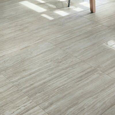 Terrane 18 x 36 Porcelain Stone Look Tile in Beige