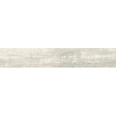 Madera 12 x 3 Porcelain Bullnose Tile Trim in Beam