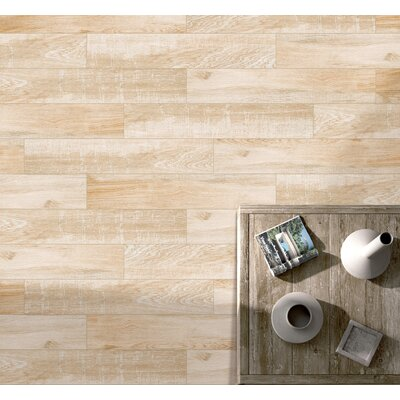 Pocono 6 x 24 Porcelain Wood Look/Field Tile in Oak