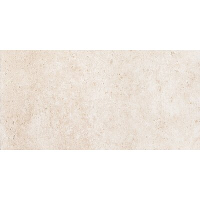 Newberry 8 x 4 Porcelain Corner Piece Tile Trim in Bianco