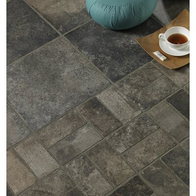 Newberry 16 x 3 Porcelain Bullnose Tile Trim in Grafite