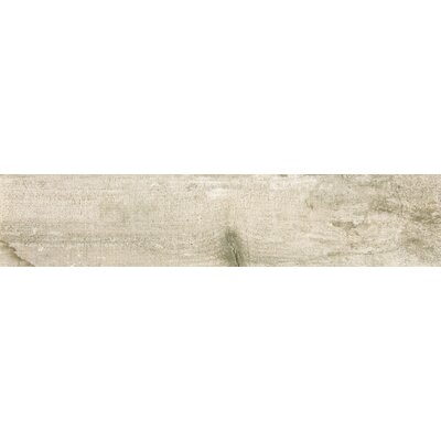 Ranch 8 x 35 Porcelain Wood Look Tile in Land