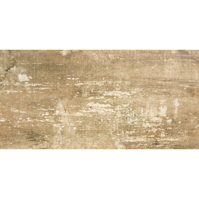 Ranch 12 x 24 Porcelain Wood Look Tile in Lodge