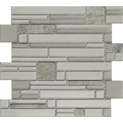 Entity Spirit Glass/Stone Mosaic Tile in Spirit