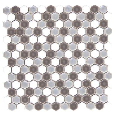 Confetti Porcelain Mosaic Tile in Freddo