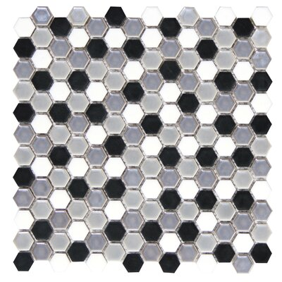 Confetti Porcelain Mosaic Tile in Gelido