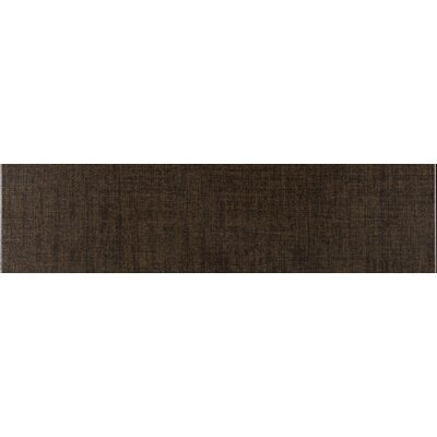 Tex-Tile 12 x 3 Porcelain Bullnose Tile Trim in Wool