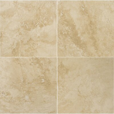 Travertine18 x 18 Filled and Honed Field Tile in Umbria Savera