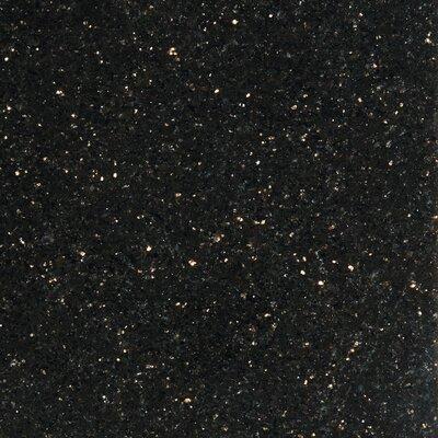 Granite 12 x 12 Tile in Galax y Black