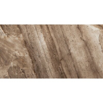 Europa 12 x 23 Porcelain Field Tile in Noce
