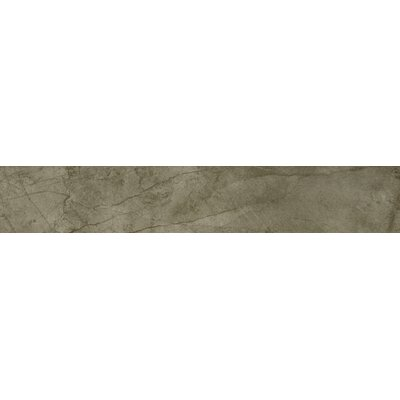 Citadel 6 x 35 Porcelain Field Tile in Olive
