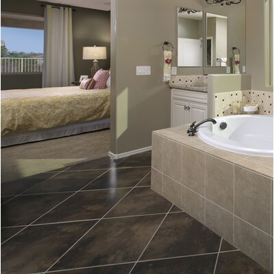 Cosmopolitan 2 x 2 Porcelain Mosaic Tile in Timber