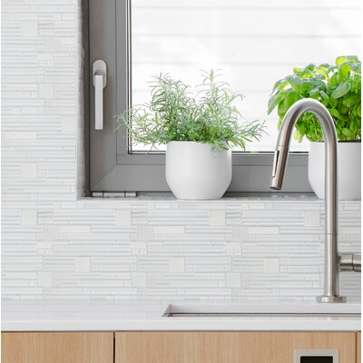 Entity Glass/Stone Mosaic Tile in Energy