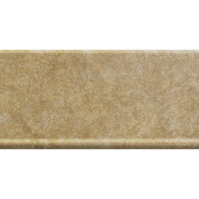 Genoa 13 x 6 Porcelain Cove Base Tile Trim in Marini