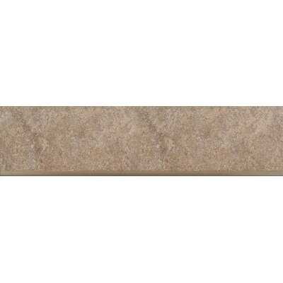 Genoa 13 x 3 Porcelain Surface Bullnose Tile Trim in Marini