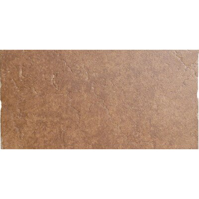 Genoa 13 x 6 Porcelain Cove Base Tile Trim in Sauli