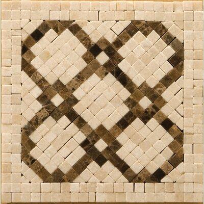 "Natural Stone 4"" x 4"" Honed Marble Scelto Listello Corner"