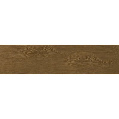 Alpine 6 x 36 Porcelain Wood-Look Plank Tile in Mocha