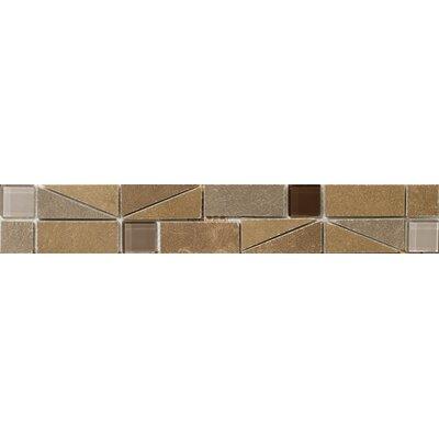 Pamplona 2 x 13 Procelain Floor Listello Tile in Beige