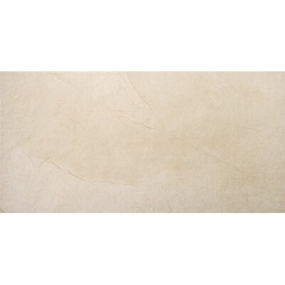 St Moritz II 12 x 24 Porcelain Field Tile in Cream