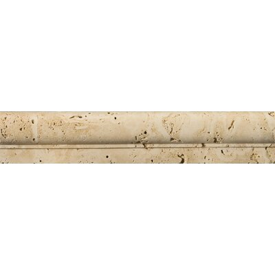 Natural Stone 12 x 2 Fontane Travertine OG in Ivory Classic