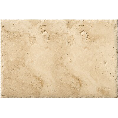 Travertine 16 x 24 Field Tile in Chiseled Umbria Savera