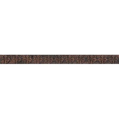 Camelot 12 x 1 Metal Merlin Liner Tile Trim in Copper