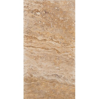 Travertine 8 x 16 Chiseled Field Tile in Valencia