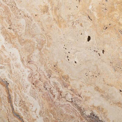 Travertine 16 x 16 Chiseled Field Tile in Valencia