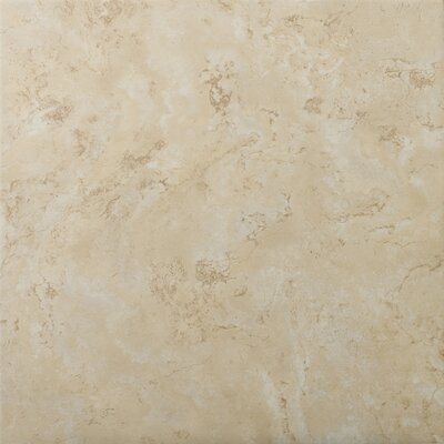 Cordova 13 x 13 Ceramic Field Tile in Crema