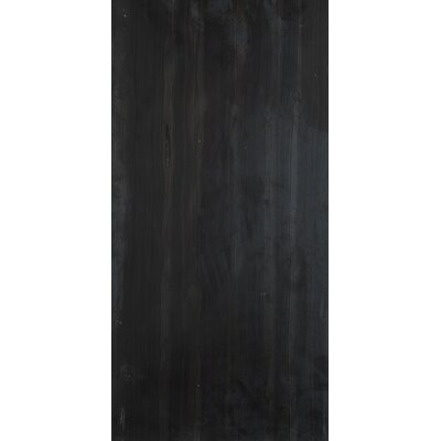 "Metro 24"" x 12"" Honed Marble Tile in Black"
