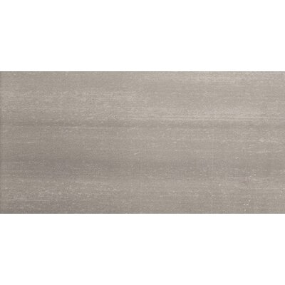 Perspective 12 x 24 Porcelain Fabric Look/Field Tile in Gray