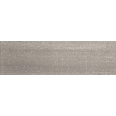 Perspective 6 x 24 Porcelain Fabric Look/Field Tile in Gray