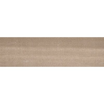 Perspective 12 x 3 Bullnose Tile Trim in Taupe