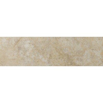 Toledo 13 x 3 Bullnose Tile Trim in Beige