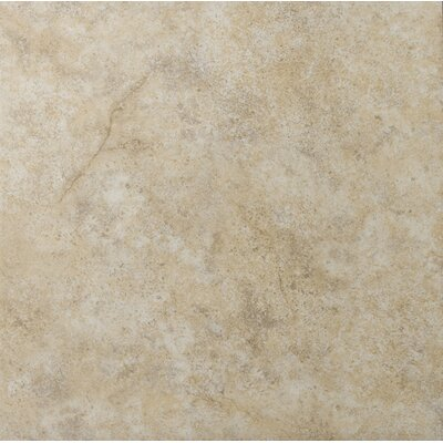 Toledo 17 x 17 Ceramic Field Tile in Beige