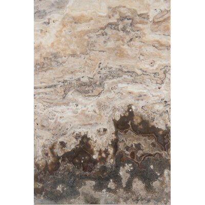 Travertine 16 x 24 Chiseled Field Tile in Onyx