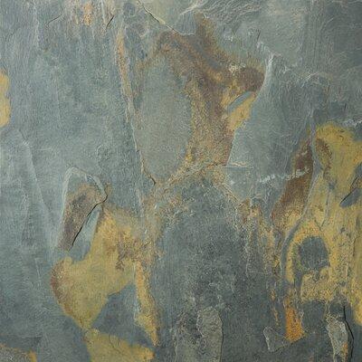 Slate 16 x 16 Field Tile in Rustic Gold