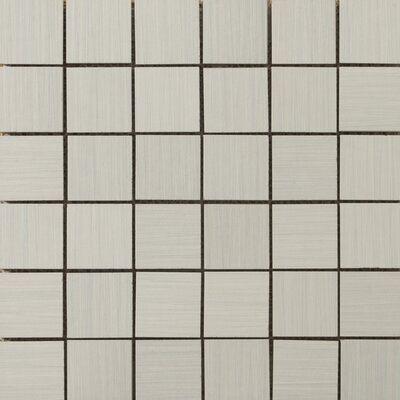 Strands 2 x 2/12 x 12 Porcelain Mosaic Tile in Pearl