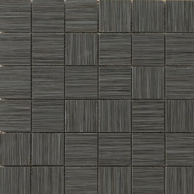 Strands 2 x 2/12 x 12 Porcelain Mosaic Tile in Twilight