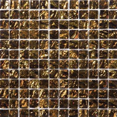 Vista 1 x 1/12 x 12 Glass Mosaic Tile in Tiozzo