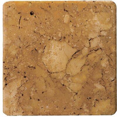 16 x 16 Travertine Field Tile in Oro