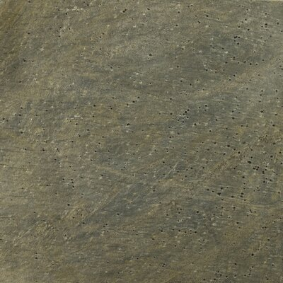 Quartzite 12 x 12 Slate Field Tile in Golden Green