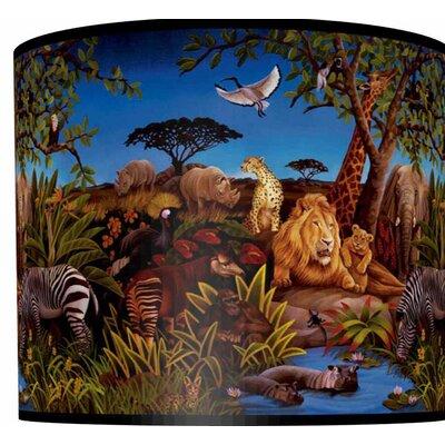 illumalite Designs Jungle Drum Lamp Shade - Size: 7