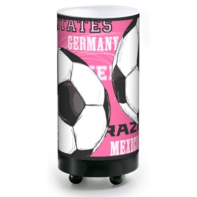 illumalite Designs Soccer Balls Accent Table Lamp in Pink at Sears.com