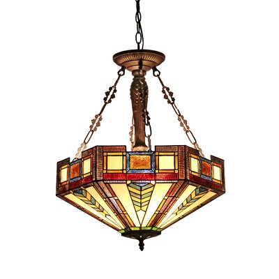 Baxter 3-Light Inverted Pendant