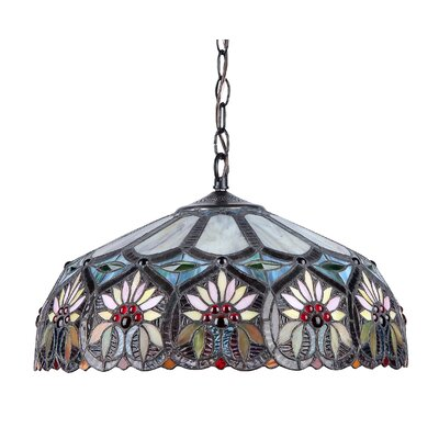 Benton 2-Light Bowl Pendant
