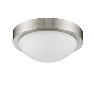 Antoinette 2-Light Flush Mount Size: 4.25 x 10.5 x 10.5