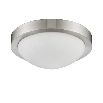 Antoinette 2-Light Flush Mount Size: 4.5 x 13 x 13