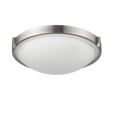 Smith 3-Light Flush Mount